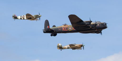 An evening with members of the 2019 BBMF display team