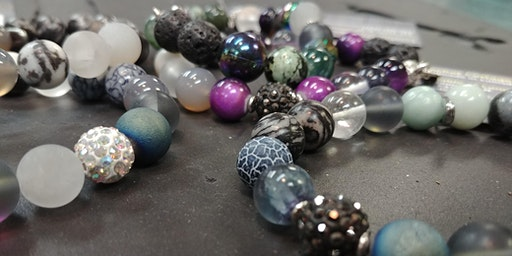 Bracelet Workshop: Healing Stones - infuse with essential oils!