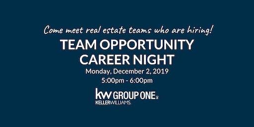 Team Opportunity Career Night