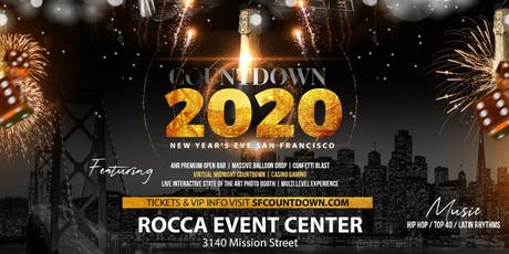 Countdown 2020 - New Year's Eve San Francisco tickets
