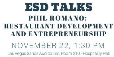 Phil Romano:  Restaurant Development and Entrepreneurship