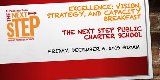 Excellence: Vision, Strategy, and Capacity Breakfast