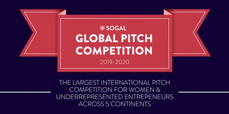 SoGal Global Pitch Competition: Dallas Regional Round tickets