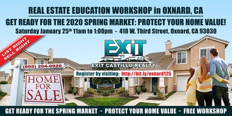 Get Ready for the 2020  Real Estate Spring Market:  Protect your Home Value tickets
