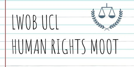 LWOB UCL Human Rights Moot Finals tickets