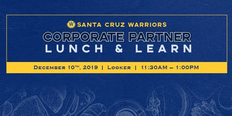 Corporate Partner Lunch and Learn - Looker tickets