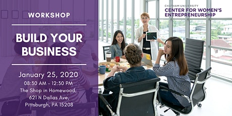 Workshop: Build Your Business tickets