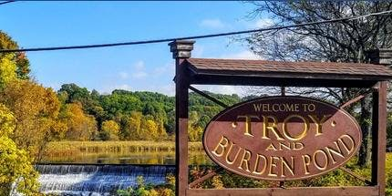 Walk at Burden Pond and Wynants Kill Narrows, South Troy