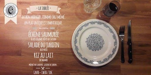 La Tablée - Edition préparée par Claudine