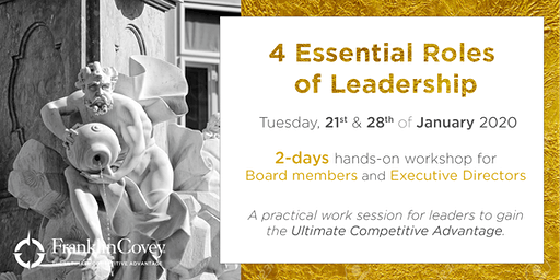 4 Ključne vloge pri vodenju