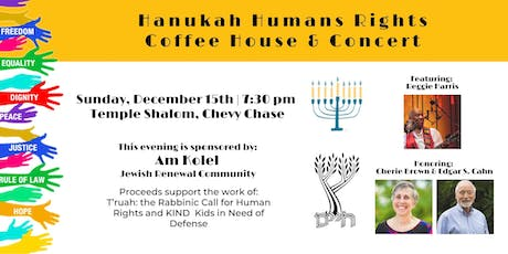 Hanukah Humans Rights Coffee House & Concert tickets