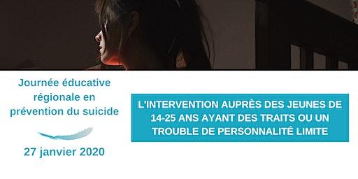 Journée éducative régionale en prévention du suicide