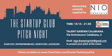 Startup Club Pitch Night biglietti