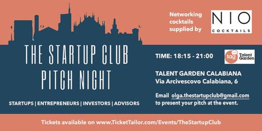 Startup Club Pitch Night