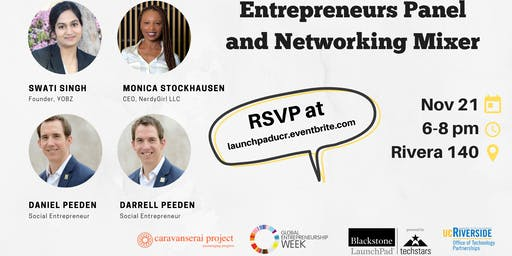 Entrepreneurs Panel and Networking Mixer