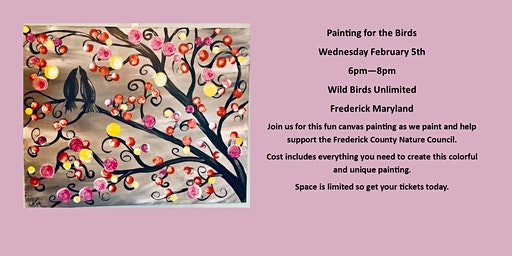 PAINTING FOR THE BIRDS