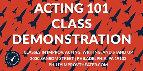 Class Demonstration: Acting 101 with Rebecca Havu tickets