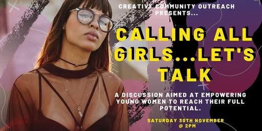 Calling All Girls...Let's Talk!