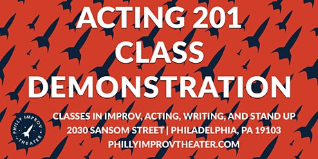 Class Demonstration: Acting 201 with Amy Frear tickets