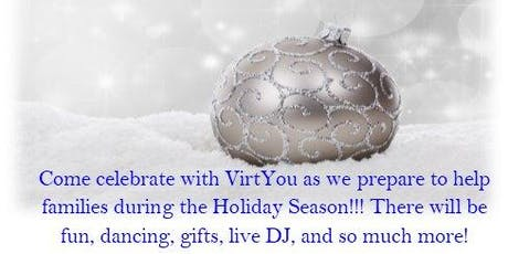VirtYou's Holiday Party & Fundraiser tickets