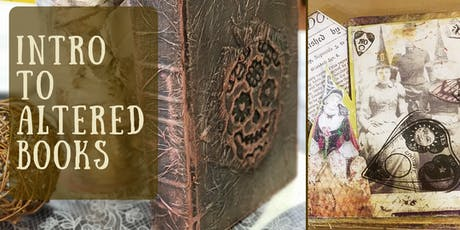 Intro into Altered Books tickets