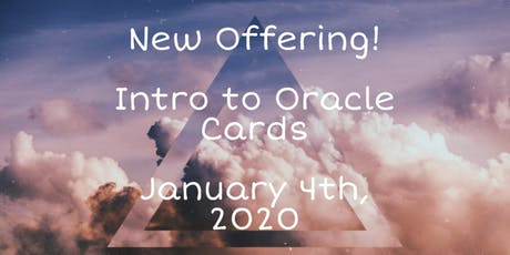 Intro To Oracle Cards tickets