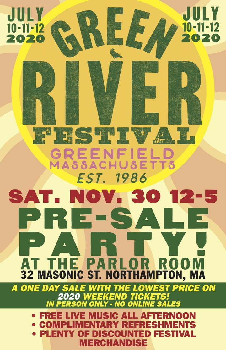 Green River Festival 2020.Green River Festival 2020 Pre Sale Party Tickets Sat Nov