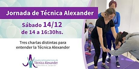 Jornada de Técnica Alexander entradas