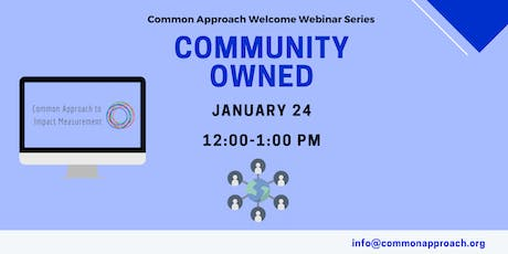 Community Ownership Webinar tickets
