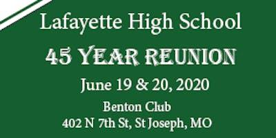 Lafayette Class of 1975 Reunion