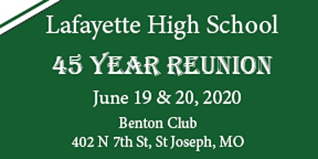 Lafayette Class of 1975 Reunion tickets