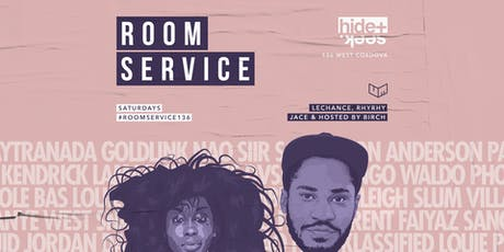 HIDE + SEEK presents Room Service 12.14 tickets