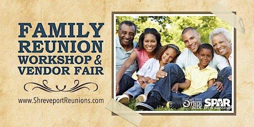 Family Reunion Workshop and Vendor Fair - 2020 Vendor Registration