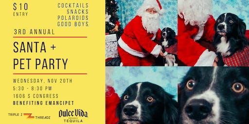 Santa + Pet Party