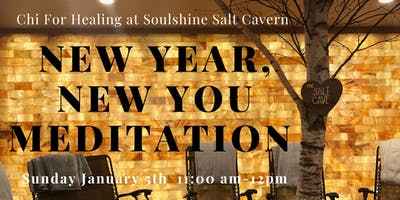 Salt Cave New Year, New You Meditation with Crystals, Aromatherapy, & Sound Healing