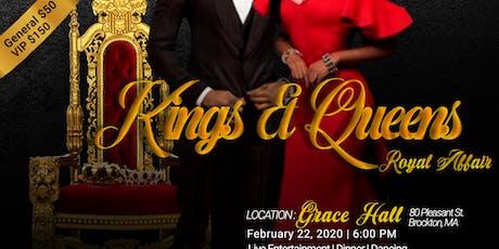 Kings & Queens Royal Affair tickets