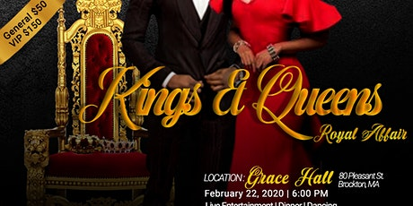 Kings & Queens Royal Affair tickets