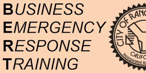 Business Emergency Response Training (BERT)