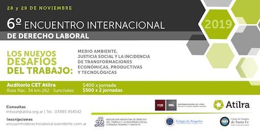 6° Encuentro Internacional de Derecho Laboral