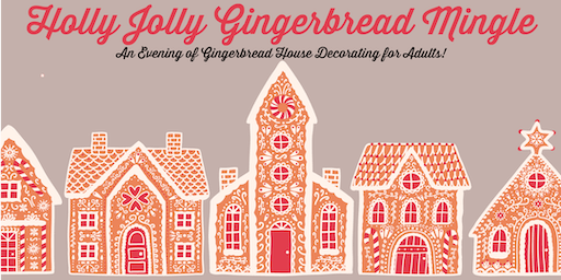 Holly Jolly Gingerbread Mingle: A Gingerbread House Decorating Party