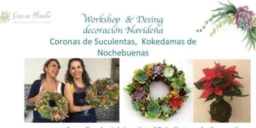 Workshop & design: Decoración navideña
