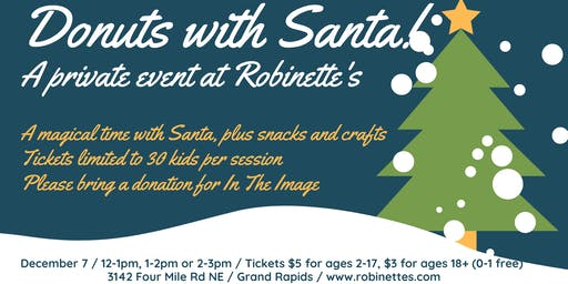 Donuts with Santa - a private event