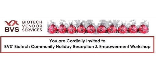 BVS' Empowerment Workshop & Holiday Reception