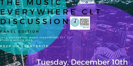 "The Platform Music + Culture Series | ""Music Everywhere CLT Discussion"" tickets"