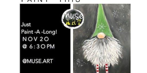 Gnome Paint - A - Long