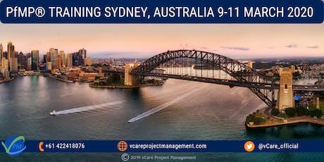 PfMP | Portfolio Management Training Course | Sydney | 2020 tickets
