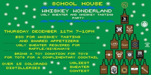 Whiskey Wonderland Ugly Sweater Party
