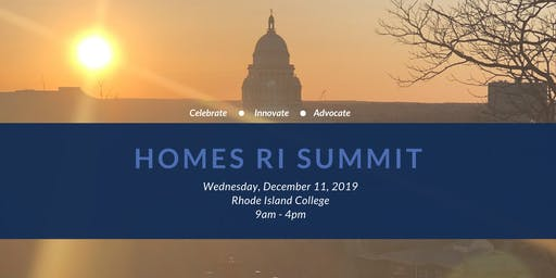 Homes RI Summit