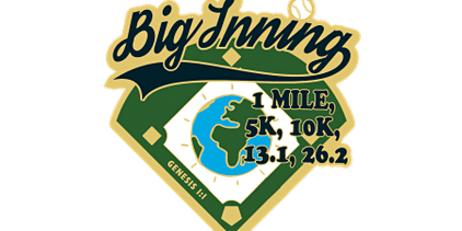 2020 In the Big Inning 1M, 5K, 10K, 13.1, 26.2 -Salt Lake City