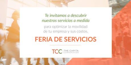 Feria de Servicios TCC 2019 entradas